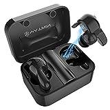 Bluetooth Kopfhörer in Ear V5.0, Sport Kabellos/Wireless Kopfhörer, Staub/Wasserdicht IPX6, 77 Stunden Standby-Zeit, 30 Minuten Schnellladung, Noise Cancelling Ohrhörer Für alle Bluetooth-Geräte