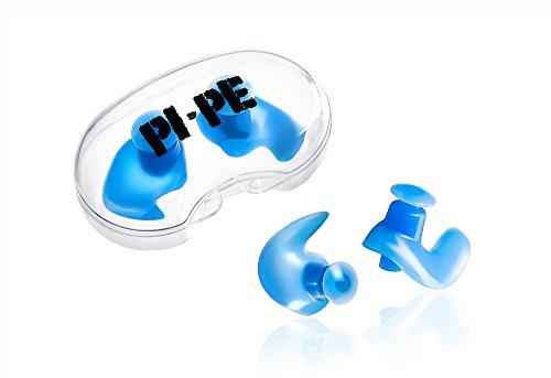 PI-PE Erwachsene Ohrstöpsel Ear Plugs, Blau, One size, PO-1-B