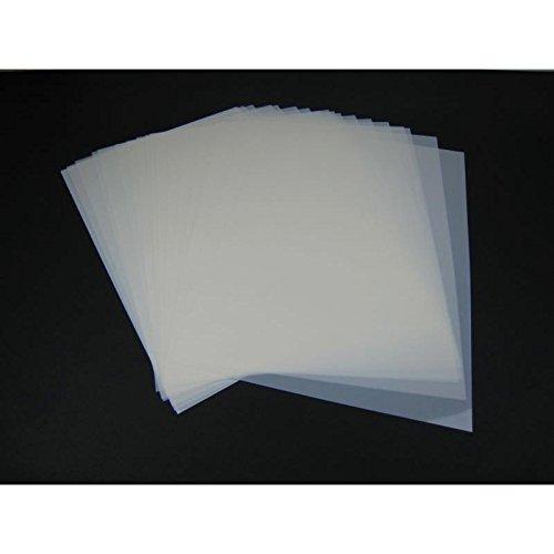 Mylar Schablonen Material 20 Stück DIN A4 Folie Mylarfolie