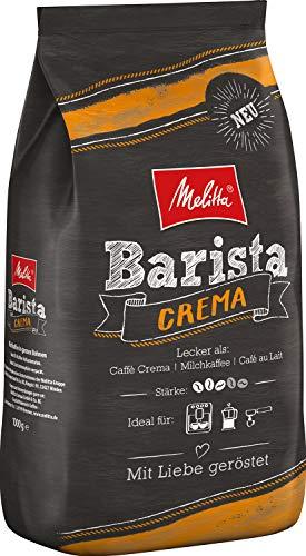 Melitta Barista Ganze Kaffeebohnen, ausgewogen und harmonisch, mittlerer Röstgrad, Stärke 3, Crema, 1er Pack (1 x 1 kg)