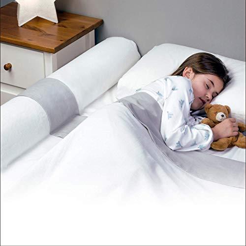 Banbaloo - Sicherheitsgeländer Kinderbett/Bettgitter Absturzsicherung-transportabel,Kantenschutz für Kinderbetten, Schaumstoff, Perfekt für 180 cm, 150 cm, 90cm und Montessori-Betten.