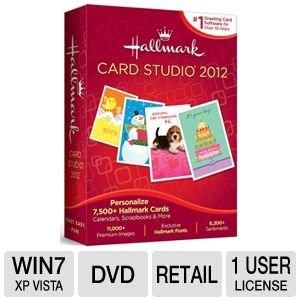 Hallmark Card Studio 2012 Grußkarten-Software
