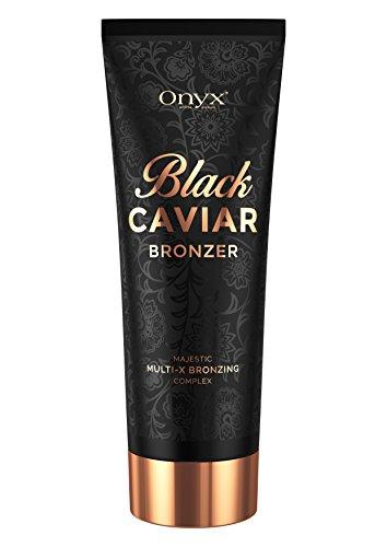 Bräunungsbeschleuniger Creme Black Caviar ein Black Bronzer mit Multi-X-Bronzing-Komplex für sofortige und lang anhaltende Ergebnisse, Leistungsstarke Effekte für fortgeschrittene Bräuner