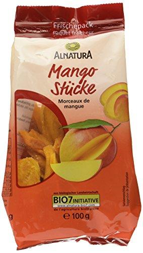 Alnatura Bio Mangostücke getrocknet, 100 g