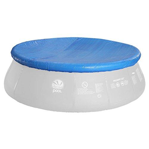Jilong Pool-Abdeckung rund Abdeckplane für Quick-Up Pool Gr. Ø 360 - 366 cm runde Fast Set Pool Prompt Set Schimmbecken Schwimmbad Cover