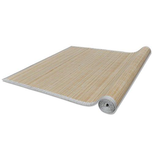 vidaXL Bambusmatte Bambusteppich Küchenteppich Matte Teppich Läufer Vorleger