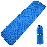 BIFY Isomatte Camping Schlafmatte Ultraleicht Kleines Packmaß. Aufblasbare Luftmatratze für Outdoor Camping, Reise,Trekking und Backpacking (Blau)