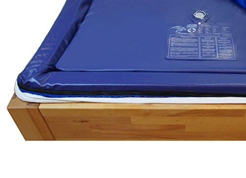Wassermatratze Dual 90x200 cm MESAMOLL 2 Wasserkern Wasserbett-Matratze für 180x200 cm Softside Wasserbetten (100% (0 Sek.))