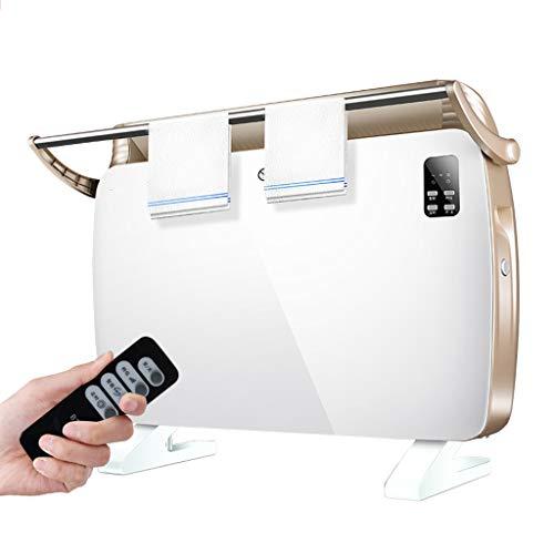 MMM@ Mobile Elektroheizung Energiesparende Haushaltsgeschwindigkeit Heiße Wand-Büro-Badezimmerheizung Intelligente Temperaturregelung Geräuscharm Kein Licht Sichere Heizung