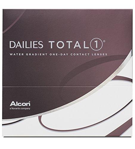 Alcon Dailies Total 1 Tageslinsen weich, 90 Stück / BC 8.5 mm / DIA 14.1 / -3,25 Dioptrien