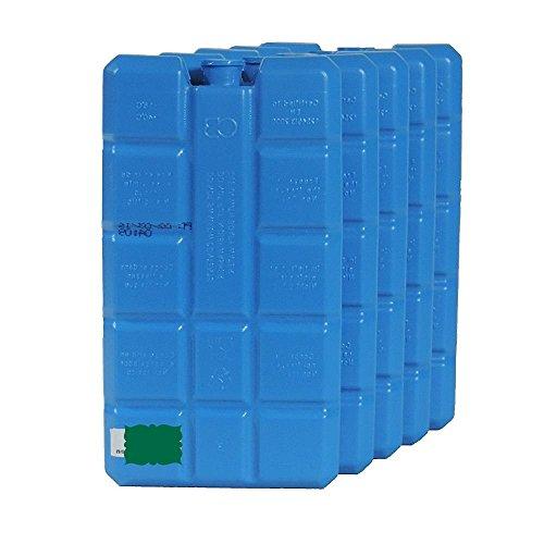 Viva-Haushaltswaren 10 grosse Kühlakkus je ca. 400 ml / Kühlelemente für Kühltasche Kühlbox