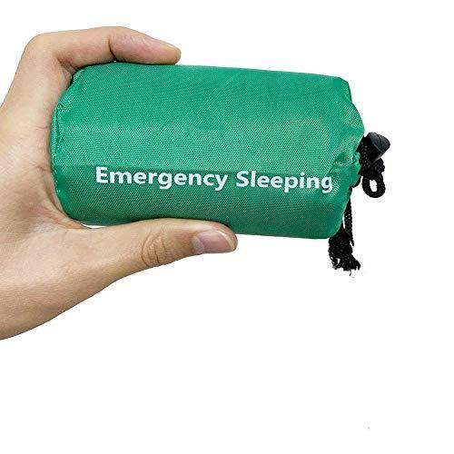 Elitlife Notfallzelt,Biwaksack Survival Schlafsack Warm Outdoor Tube Zelt Outdoor Decken Rettungsdecke Wasserdicht Leicht Hitzeabweisend Kälteschutz Ultraleicht Rettungszelt für Camping