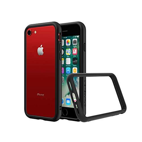 Rhino Shield Case für iPhone 7/8 Bumper Case [CrashGuard NX] Schock Absorbierende Schutzhülle mit minimalistischem Design [3,5 Meter Fallschutz] - Schwarz