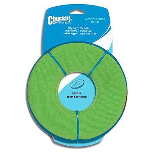 Chuckit CU18100 Zipflight, Hundespielzeug, schwimmende Frisbee und Lenkrad, M