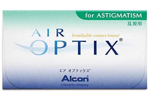Air Optix for Astigmatism Monatslinsen weich, 3 Stück / BC 8,7 mm / DIA 14,5 mm / CYL -0,75 / ACHSE 180 / -2,5 Dioptrien