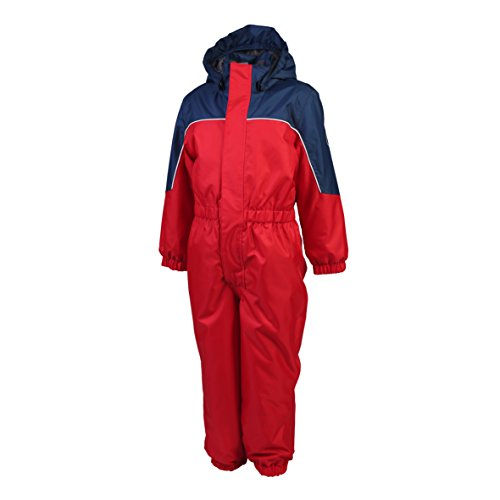Color Kids Kazor Padded Coverall,rot - marine,104