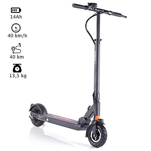 WIZZARD 2.0 City E Scooter Leistungstarker Elektro Roller mit 40 Km/h und 40 Km Reichweite by Monowheel