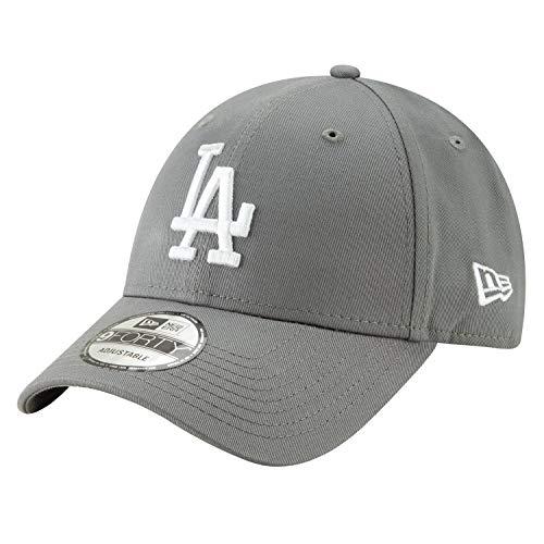 New Era 9FORTY MLB League Essential Los Angeles Dodgers Cap grau/weiß, OneSize