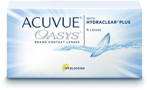 Acuvue Oasys 2-Wochenlinsen weich, 6 Stück/BC 8.4 mm/DIA 14 mm / -2.50 Dioptrien