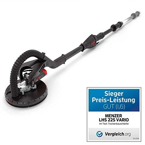 Langhalsschleifer MENZER LHS 225 VARIO mit Teleskoptechnik (1.550–1.950 mm) / inkl. Schleifmittel-Set