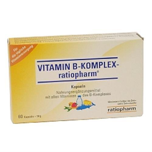 ratiopharm Vitamin B Complex, 1er Pack (1 x 60 Stück)
