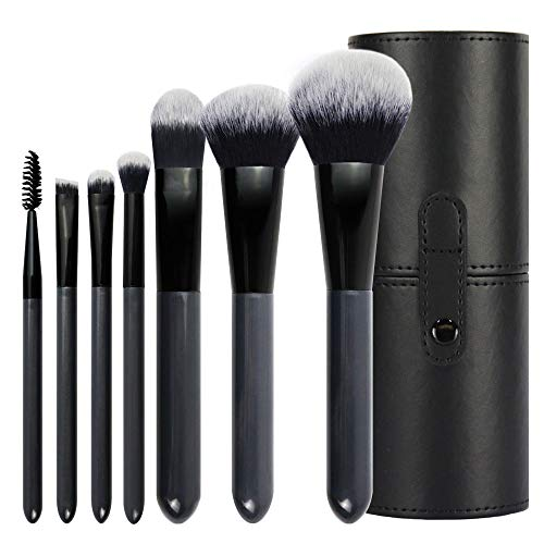 Make-up-Pinsel, 7 Stück KOKOBI Super Soft Borsten, Foundation, Rouge, Nasal, Lidschatten/Concealer, Augenbraue, Wimpern, Puder creme Blending Make-up-Pinselset Anfänger und professionelle Essential