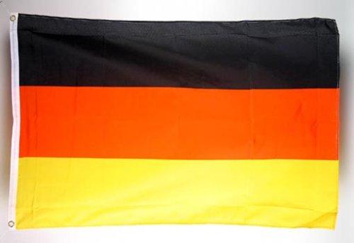 Fahne Flagge Deutschland 150 x 90 cm mit 2 Ösen
