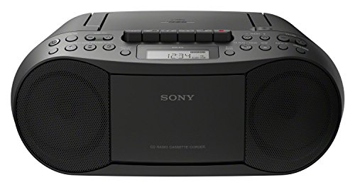 Sony CFD-S70 Boombox (CD, Kasette, Radio) schwarz