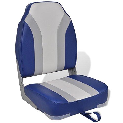 vidaXL Bootssitz Bootsstuhl Steuerstuhl Klappstuhl Anglerstuhl klappbar Sitz