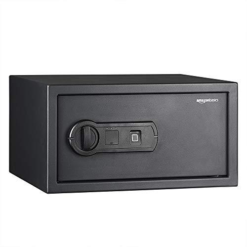 AmazonBasics - Biometrischer Tresor mit Fingerabdruck-Verschlusssystem, 20 l