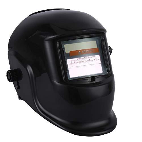 Automatik Schweißhelm XXL Sichtfeld mit Schutzstufen und Solar automatisch Schweißschirm Schweißmaske Schweißschild Automatikhelm DIN 9-13 für alle Schweißanwendungen