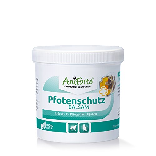 AniForte Pfotenschutz Balsam 120 ml – Besonderer Schutz & Pflege für Pfoten - Pflegemittel für Hunde und Katzen