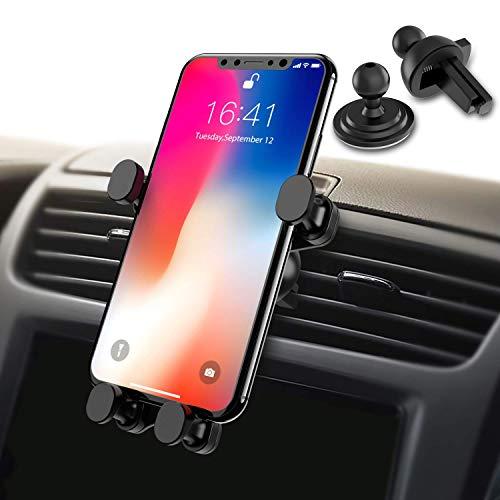 Syncwire Handyhalterung Halter Auto Handyhalter - Universale Autohalterung Lüftung Lüftungsschlitz Belüftung Auto Phone Halterung Handy Halter für iPhone, Samsung, Huawei und mehr 4,7-6 Zoll Telefone