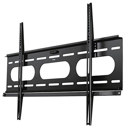 Hama TV-Wandhalterung 'Ultraslim', für 94 - 229 cm Diagonale (37 - 90 Zoll), für max. 75 kg, VESA bis 800 x 500, Wandabstand 25mm, schwarz