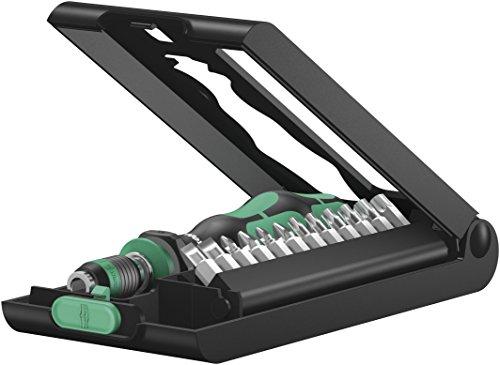 Wera Kraftform Kompakt 50, Bit-Handhalter mit Bit-Sortiment, 14-teilig, 05056656001