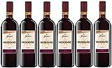 Mederaño Tinto Wein 1 l (6 x 1l) l Cuvée l halbtrocken l Spanischer Rotwein aus dem Anbaugebiet Castilla-La Mancha