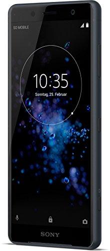 Sony Xperia XZ2 Compact Smartphone (12,7 cm (5,0 Zoll) IPS Full HD+ Display, 64 GB interner Speicher und 4 GB RAM, Dual-SIM, IP68, Android 8.0) Black - Deutsche Version