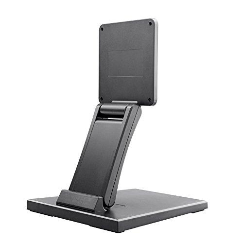 """Standfeste Halterung für Touchscreens, POS und PC Monitore / 10""""- 22"""" Zoll / verstellbar / Metallplattengerüst / hohes Eigengewicht / VESA 100 & 75 / Tischhalterung / Display Ständer"""