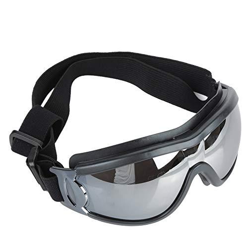Pssopp Hundesonnenbrille Wasserdichter winddichter UV Schutz Hunde Schutzbrille Haustierbrillen Schutzbrille für mittlere und große Hunde