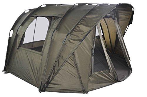 MK-Angelsport 'Fort Knox Air 3,5 Man Dome' Zelt Karpfenzelt Angelzelt incl. Gummihammer