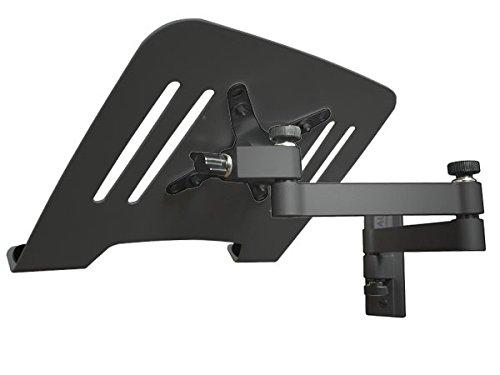 Wandhalterung mit Adapterplatte für Laptop Notebook Netbook Tablets Halterung Halter schwarz Modell: L52B-IP3B
