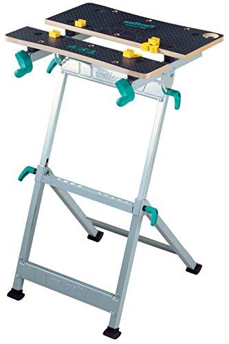 wolfcraft MASTER 600 Spann- und Arbeitstisch 6182000 - höhenverstellbar | Universell einsetzbarer & robuster Werktisch | Ideal für Heim- und Handwerker