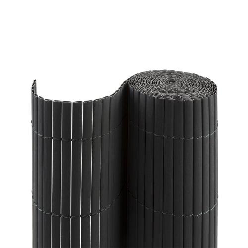 Jarolift PVC Sichtschutzmatte/Sichtschutzzaun für Garten, Balkon und Terrasse, Größe und Farbe nach Wahl