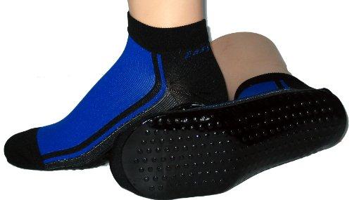 Beach Socks, Watt Strand Socken Farbe: royal/schwarz, Größe: 39/42