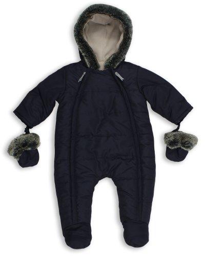 The Essential One - Baby Schneeanzug - Overall Blau - 80/86 cm EO135