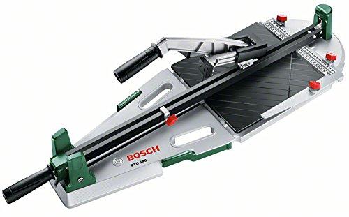 Bosch Fliesenschneider PTC 640 (Fliesenstärke max.: 12 mm, Schnittlänge max.: 640 mm, Diagonalschnittlänge max.: 450 mm, Karton)