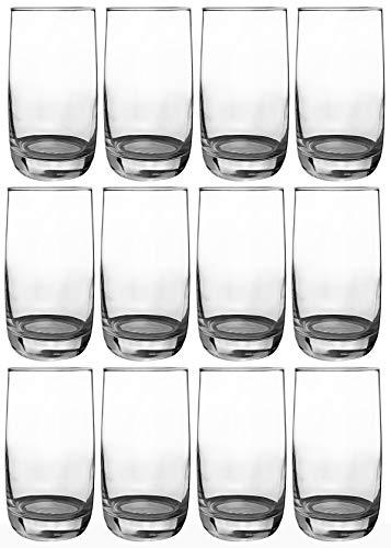 Luminarc - Wassergläser Longdrinkgläser | 12-teiliges Set | 330 ml | spülmaschinenfest | Hochwertige Qualität | Trinkgläser | Universalglas | Kratz- und schlagfest