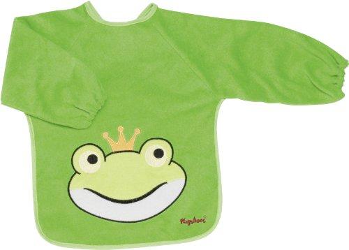 Playshoes 507136 - Ärmel-Lätzchen lang Arm, Froschkönig