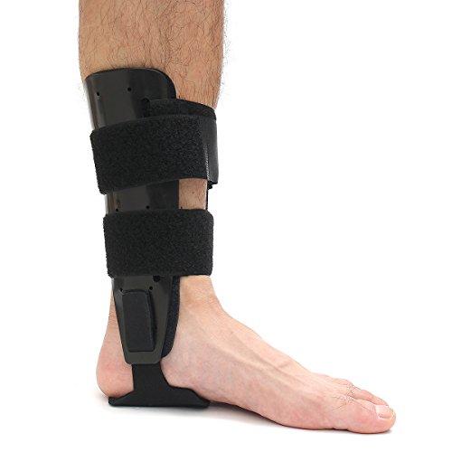 Slimerence Knöchelbandage, Ankle Brace Mit Einstellbaren Sprunggelenk Schiene Ideal Für Gymnastik, Tennis, Fußball, Volleyball