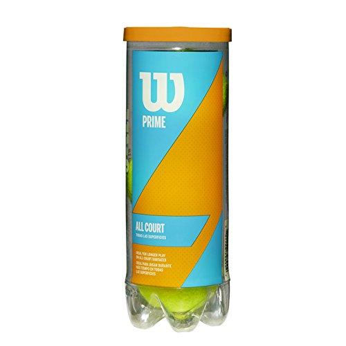 Wilson Tennisbälle Prime All Court für alle Beläge, gelb